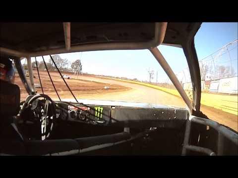 Duck River Speedway 11-3-12 Pure Pony mini stock Heat race #7 onboard