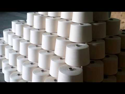 Cotton to Yarn Process || Yarn Manufacturing Process || How Make Yarn from Cotton || Yarn Textile