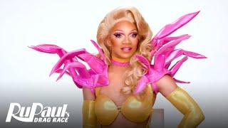Kahanna Montrese's 'Exotic Showgirl' Makeup Tutorial 💄 | RuPaul's Drag Race Season 11