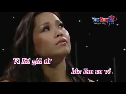 Karaoke Thao Thức Vì Anh - Cẩm Ly