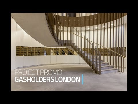 Gasholders - King's Cross, London | New Project Case Study | The Safety Letterbox Company