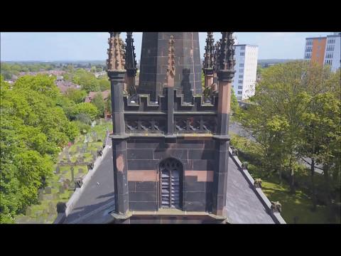 Knotty Ash Church & St Mary's Church Liverpool - DJI Mavic Pro Drone Footage