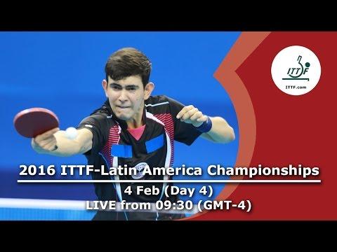 2016 ITTF-Latin American Championships - Day 4