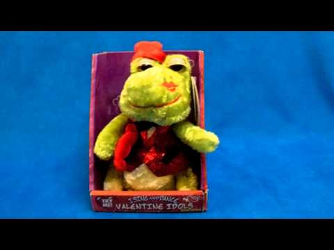 Dandee Animated Valentine's Day Frog Singing