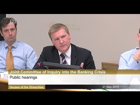 McGrath questions former Central Bank Governor at Banking Inquiry