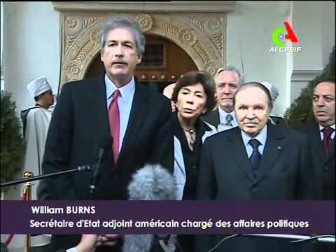 Bouteflika et William Burns 25/02/2011