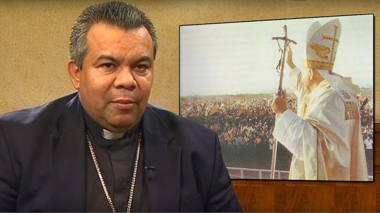 Mons. René Sándigo Jirón -Presidente de la Conferencia Episcopal