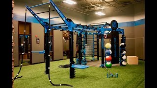 Gold's Gym Sterling Renovation Tour Featuring MoveStrong Functional Fitness Equipment