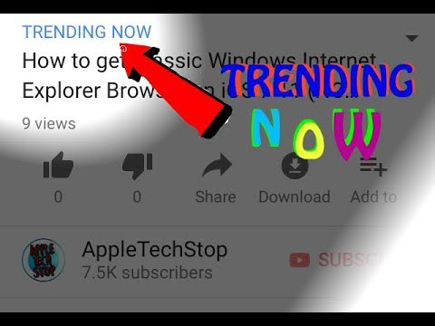 How To Make Your Video Trending Now!! image