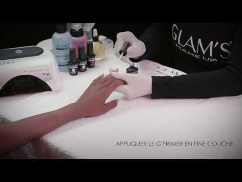 How to correctly apply nail polish GLAMS   POSE GEL INSTRUCTIONS