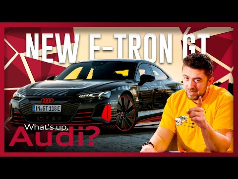 The new Audi e-tron GT | What can you expect? | What's up, Audi? #40