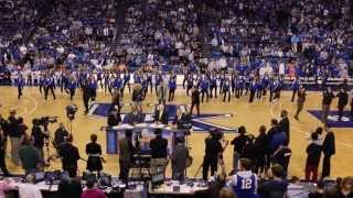 The Acoustikats And Emoni Perform Timber With The Uk Dance Team At Rupp Arena