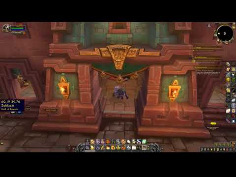 Happy Holaua Pet Vendor Location WoW Dazar'alor