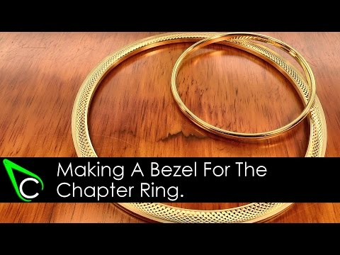 How To Make A Clock In The Home Machine Shop - Part 10 - Machining A Bezel For The Chapter Ring