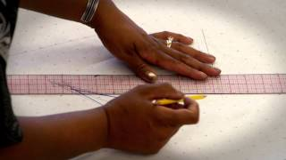 How to add seam allowance to a pattern part 1
