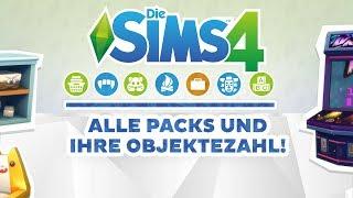 Alle Packs und ihre Objektezahl! | Simfaktisch | sims-blog.de