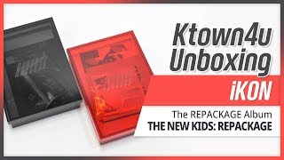 Unboxing iKON - [THE NEW KIDS: REPACKAGE] Album 아이콘 뉴키즈 리패키지 언박싱 KPOP Ktown4u