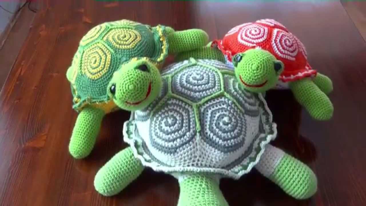 crochet turtle pattern youtube