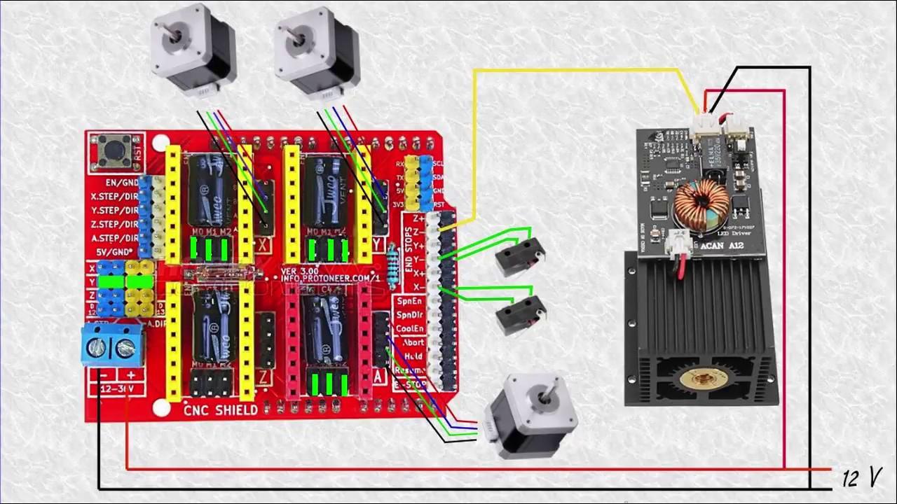 Montaje laser 15 W ( 4 )