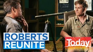 Robert Downey Jr and Bob Irwin reunite after 16 years   Today Show Australia