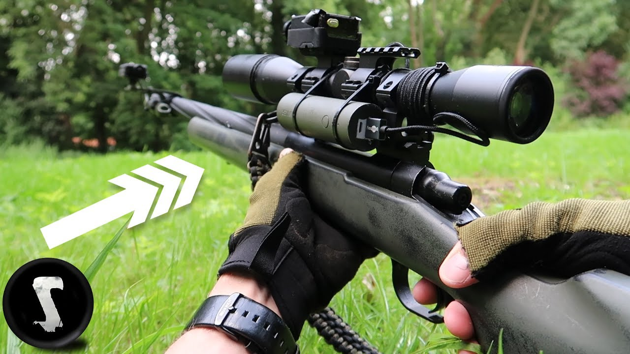 This Airsoft Gun Scares The Sh T Out Of Players Youtube