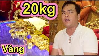 CHẤN ĐỘNG Phúc XO Bưng Rổ Vàng 20kg Ra Bán, Bán Luôn Xe SH 777.77 400 Triệu - Ẩm Thực VN