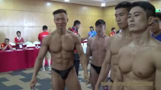 IFBB Bodybuilding Weigh-In Video (5th Asian Beach Games Danang 2016)