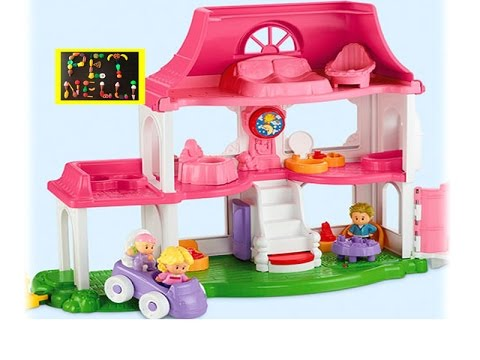 Fisher-Price Little People Happy Sounds Home Toy Review