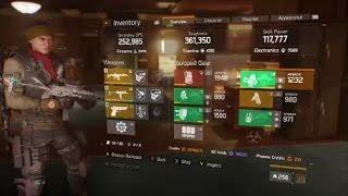 The Division Banshee 1.6 DZ Rogue Hunter Gear Set