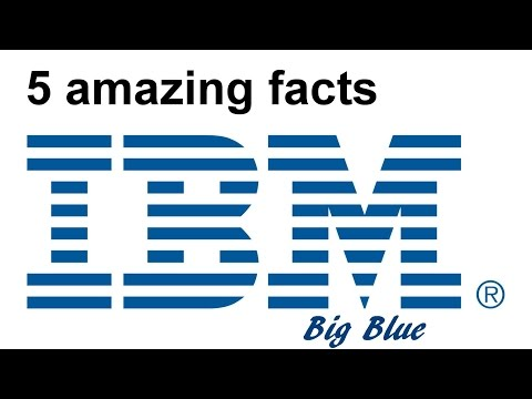 IBM - 5 amazing facts from the history of the company