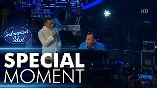 Video Judika menyanyi dengan iringan piano dari Pak Heru! - RESULT & REUNION - Indonesian Idol 2018 download MP3, 3GP, MP4, WEBM, AVI, FLV September 2018