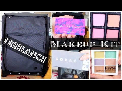 What's In My Professional Freelance Makeup Artist Kit?