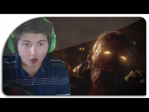 Zombie Youtubers React: Black Ops 3 Reveal Trailer (BO3 Reaction w/ MrTLexify, JohnyJ25 & more!)