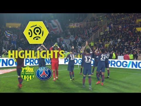 FC Nantes - Paris Saint-Germain (0-1) - Highlights - (FCN - PARIS) / 2017-18