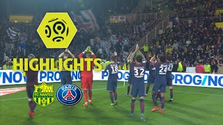FC Nantes - Paris Saint-Germain (0-1) - Highlights - (FCN - PARIS) / 2017-18