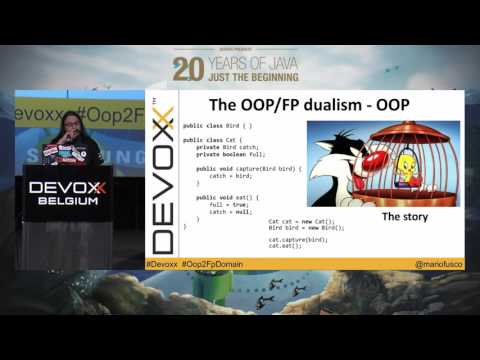 From object oriented to functional domain modeling by Mario Fusco
