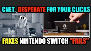 "Desperate for Clicks, CNET Try to Manufacture Nintendo Switch ""FAILS""… #KICKSTANDGATE!!!"