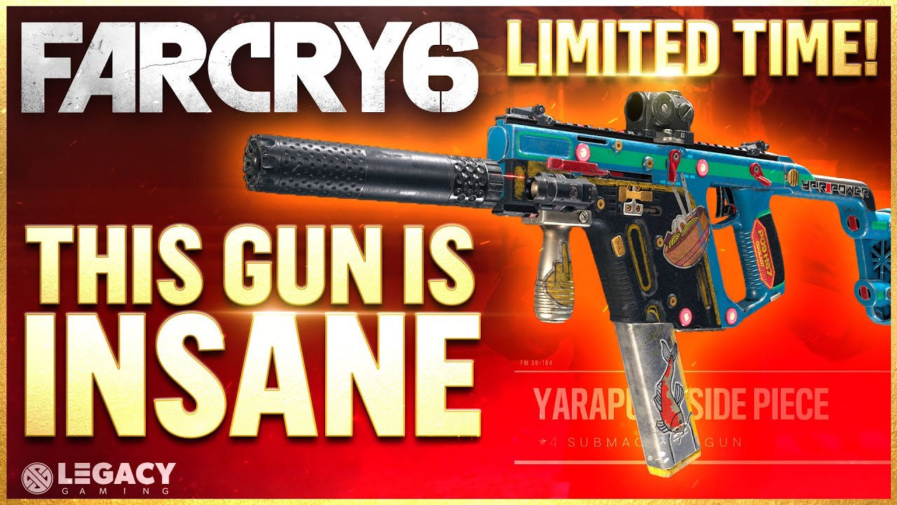 Far Cry 6 - This New Gun Is Nuts, But You Need To Get It NOW