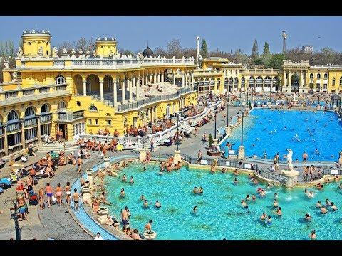 Szechenyi Bath - Budapest Hungary - YouTube