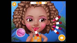 Best Games for Kids - Fun Baby Girl Care Play Pretty Little Princess Makeup Fun Colors Dress  # 360