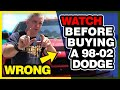 Top Problem Areas To Look At On 98 02 Dodge Cummins | Secret Tips For Buying Used Diesel Trucks
