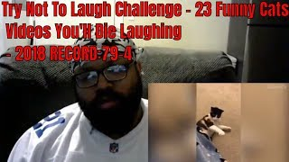 Try Not To Laugh Challenge - 23 Funny Cats Videos You'll Die Laughing - 2018 RECORD:79-4