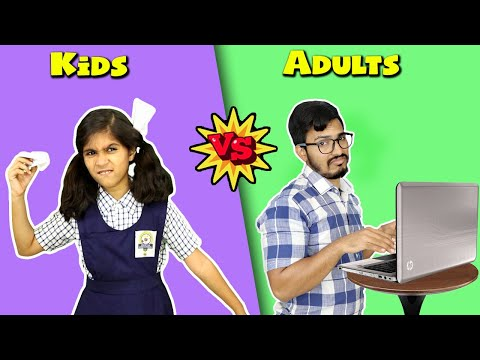 Kids Vs Adult In Life I Funny Video I Paris Lifestyle
