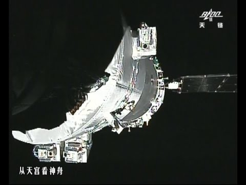 UPDATE Video: Shenzhou-11 Spacecraft Docks with Tiangong-2 Space Lab