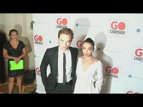 Robert Pattinson, FKA twigs and Katy Perry attend charity auction