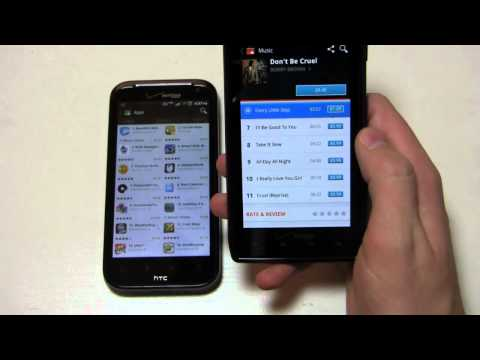 HTC Rezound vs. Motorola DROID RAZR Dogfight Part 2