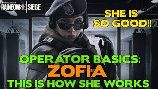 Rainbow Six Siege Tips || Operator Basics: Zofia