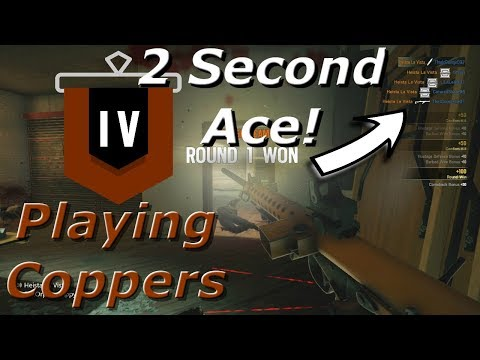 2 Second Ace! Road To Copper - Rainbow Six Siege Funny Moments