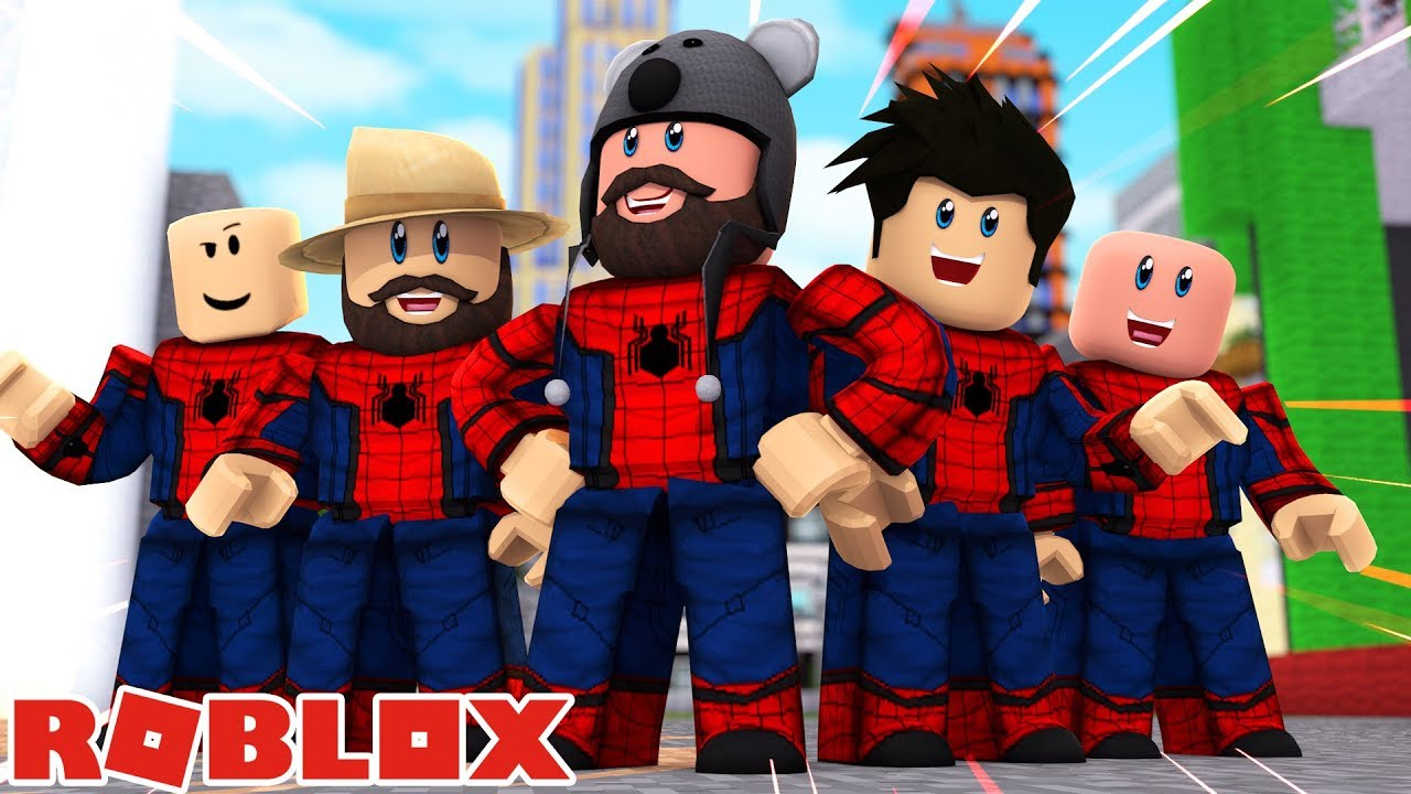 Hat Man Roblox Spider Man Homecoming In Roblox Youtube
