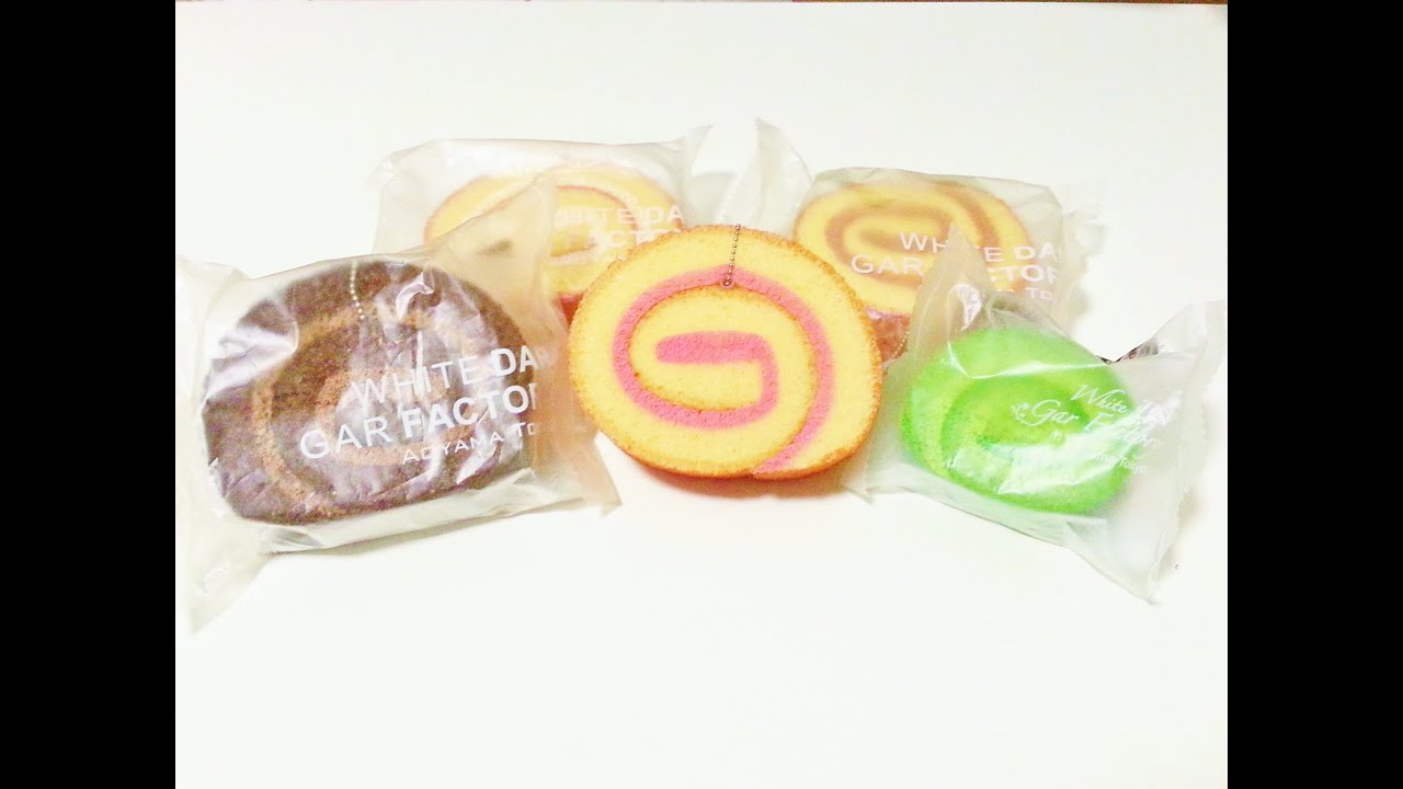 Ibloom Cake Roll Squishy :  Tokyo Aoyama Cake Roll Squishy Review  - YouTube